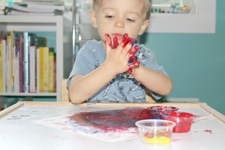 Finger Painting 6