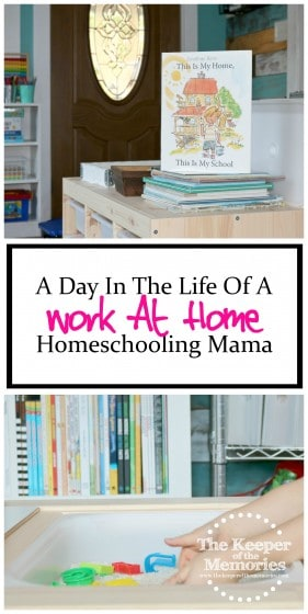 This is a must-read! Find out what life really looks like for a work-at-home, homeschooling mama. Check it out!