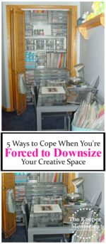 5 Ways to Cope When You're Forced to Downsize Your Creative Space