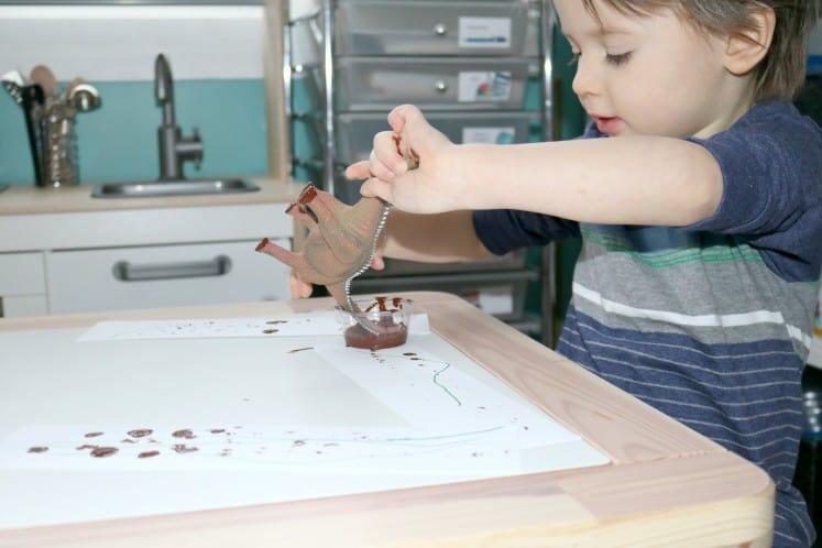 Dino Tracks Painting 6