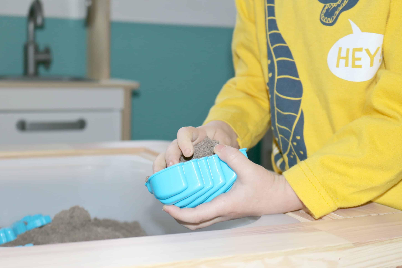 Dinosaur Dig Prehistoric Sensory Activity for Little Kids