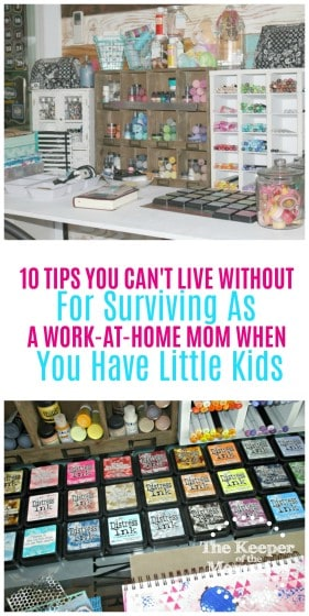 If you're just barely surviving as a work-at-home mom, then this post is for you. Trust me, I totally get it. I've been there and done that. It's taken us a long time to adjust to our new lifestyle, but I wouldn't trade this time with the little guy for anything. And if I can do this, then you definitely can too. Once you figure out how to make it work for you, being a work-at-home mama is all kinds of awesome.