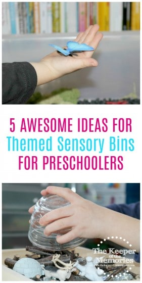 Check out these 5 awesome sensory activities for little kids! These would be lots of fun for a rainy day! #preschool #sensory