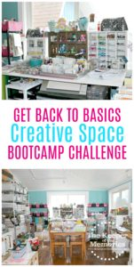 Get Back to Basics Creative Space Bootcamp Challenge