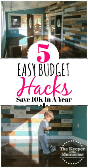 collage of sunroom pictures: 5 Easy Budget Hacks Save 10k In A Year