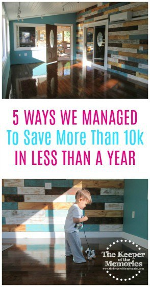OMG! This post is full of ideas for how one mama managed to save 10k in less than a year. It's a must-read! Check it out!