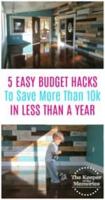 5 Easy Budget Hacks To Save 10k In Less Than A Year