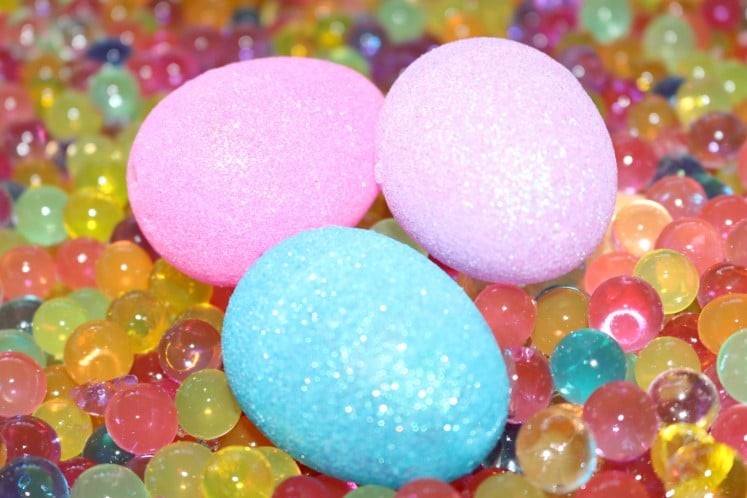 Squishy Beads Glitter Eggs 4