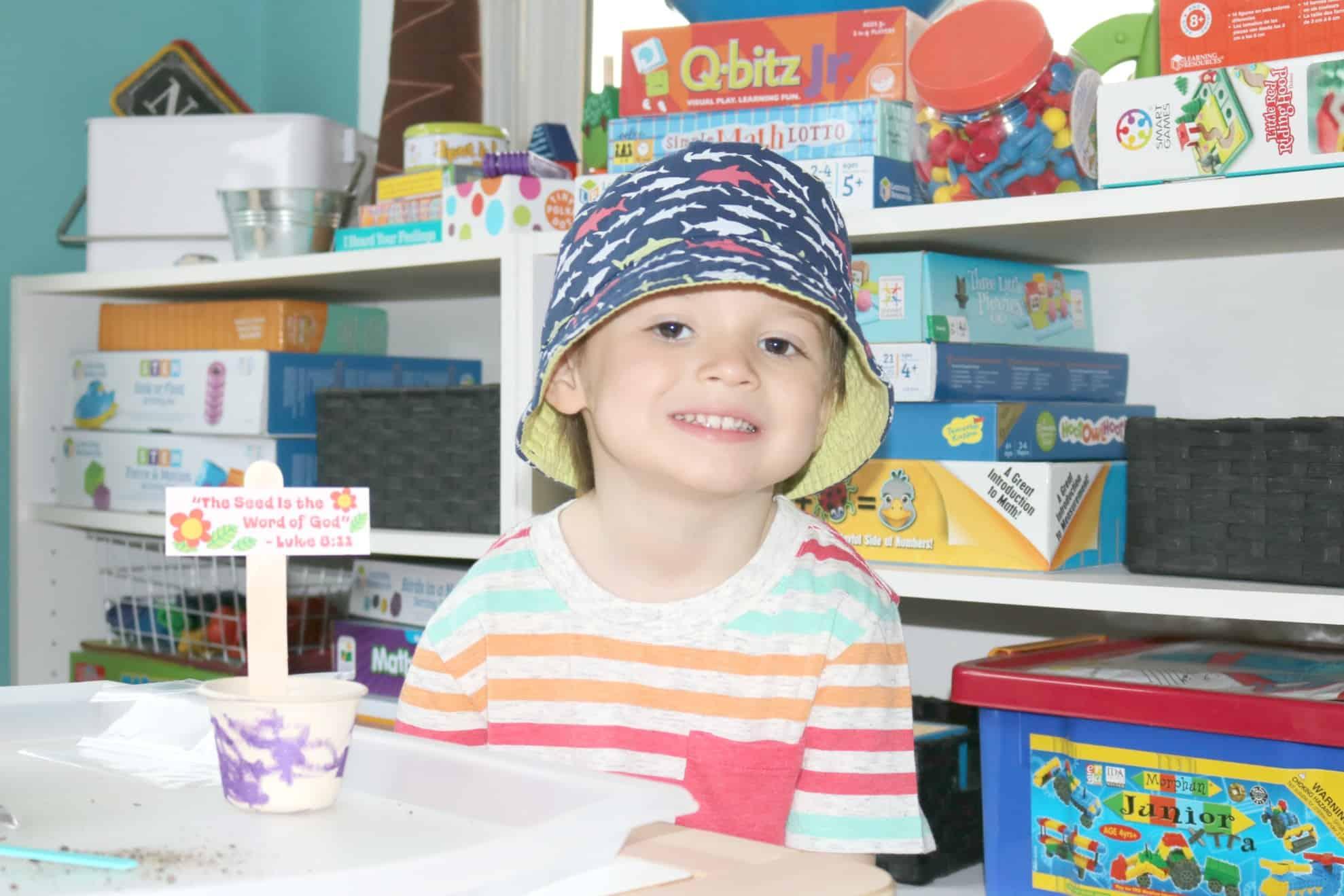Growing God's Word Bible Story Art for Little Kids