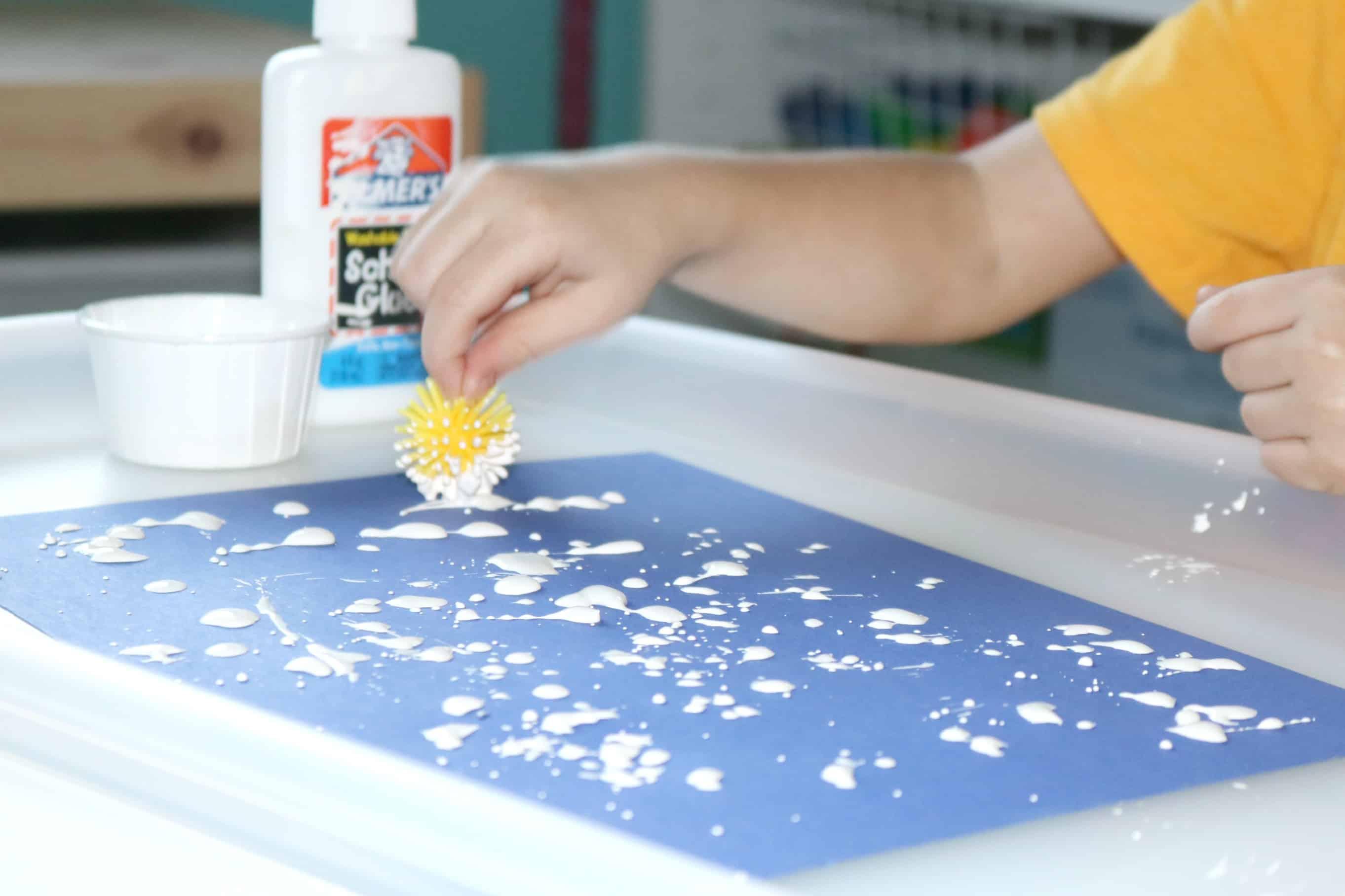Dandelion Invitation to Create Flower Art