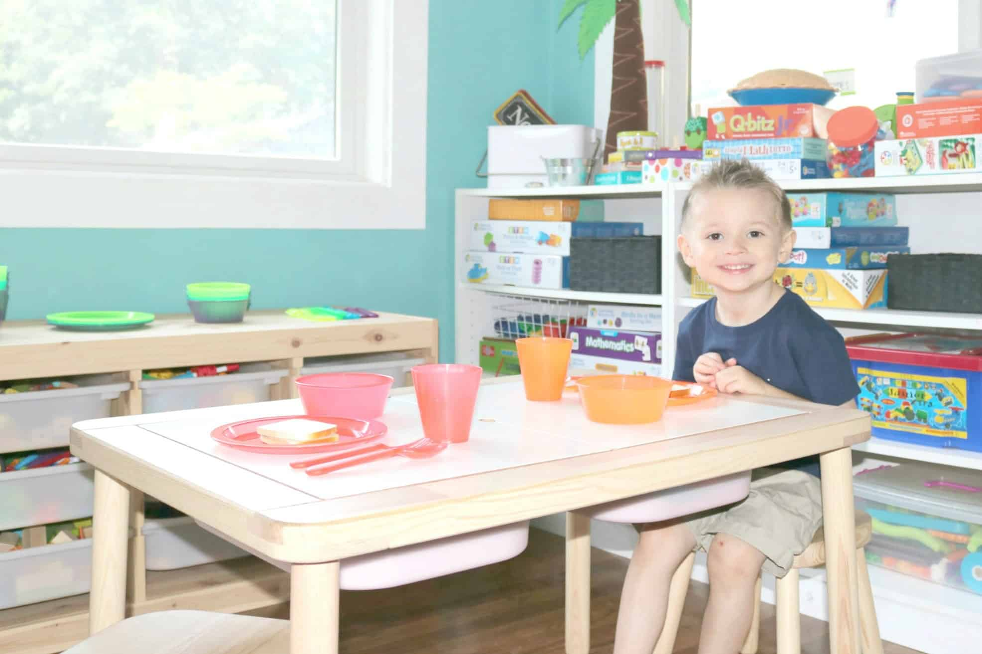 Let's Have A Meal Together Dramatic Play Investigation Station