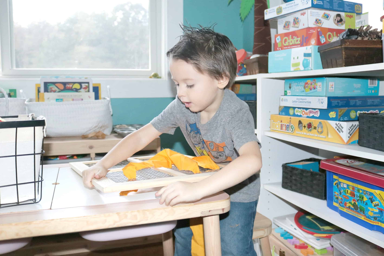Preschool Tree Activities Weaving Roots Investigation Station