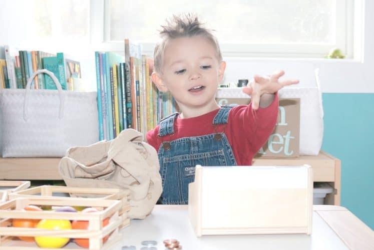 Preschool Farmer's Market Dramatic Play Investigation Station