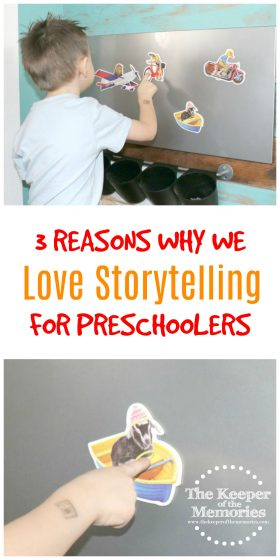 Are you curious about storytelling for preschoolers? Are you looking for a fun activity to boost creative thinking and language skills? We've got you covered! Here are 3 reasons why we love it and why you should be teaching these skills to your little kids.