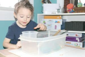 Ice Sounds Investigation Station for Little Kids