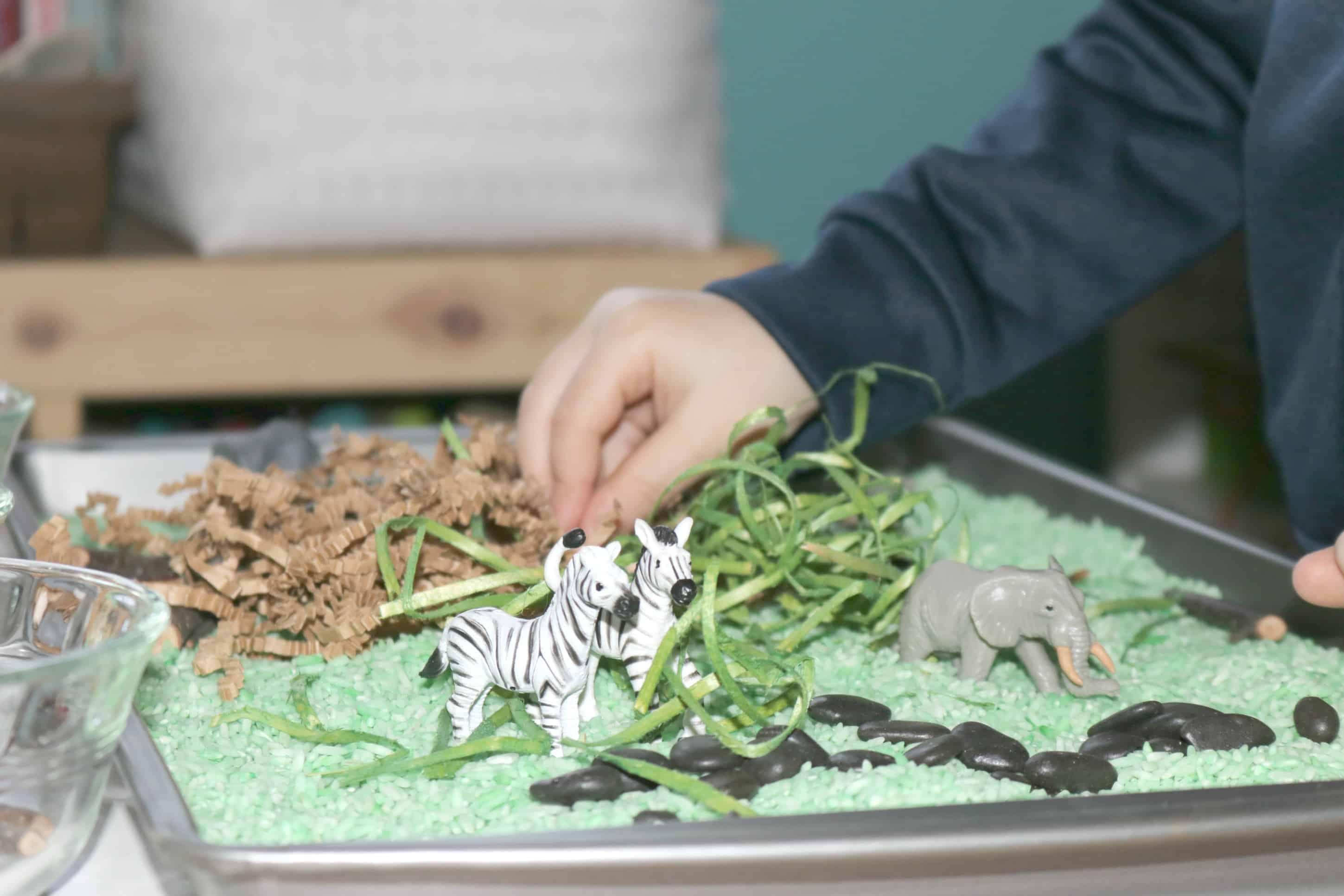4 Quick & Easy Safari Preschool Monthly Theme Ideas for Little Kids