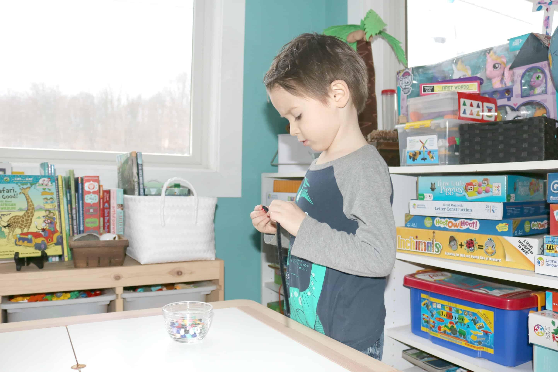 Preschool Safari Crafts Beads Activities for Little Kids