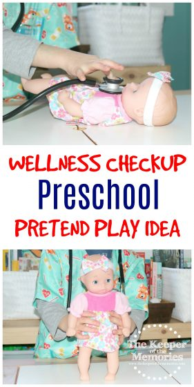 Here's a fun Preschool Health Theme Doctor's Office Dramatic Play Investigation Station. Of course this post also includes a few big questions to get you started and to get your little kids thinking. You're definitely going to want to check it out!
