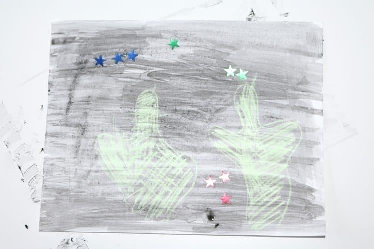 preschool desert resist painting