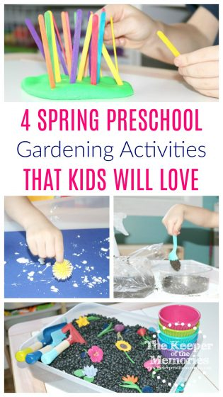 spring gardening activities that kids will love