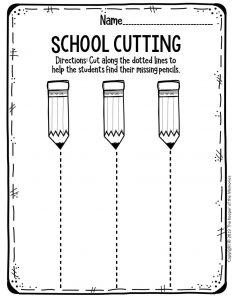Free Printable Worksheets for Preschool & Kindergarten ...