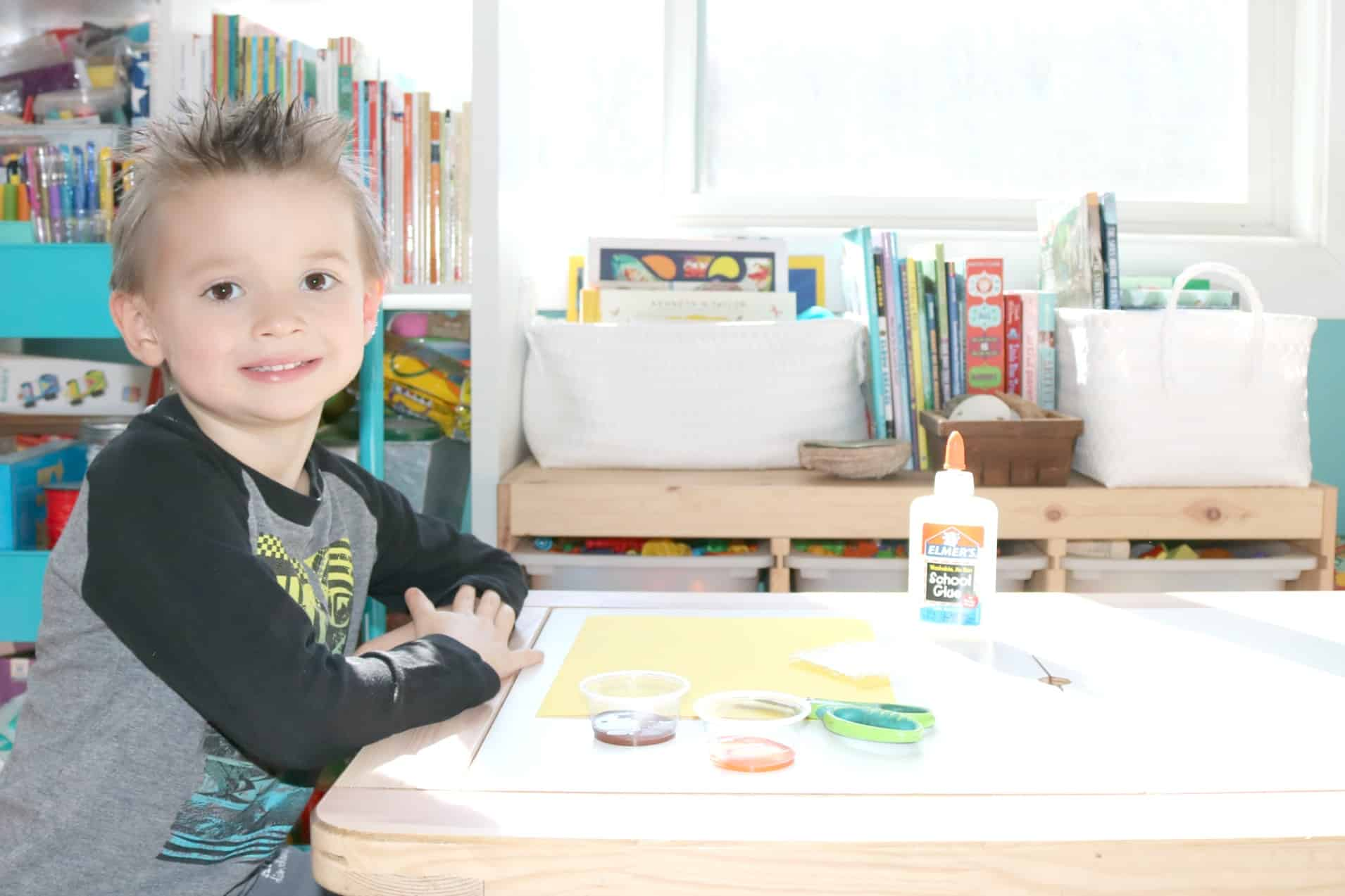 Beehive Stamping Art for Preschoolers