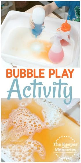 Bubble Play Activity