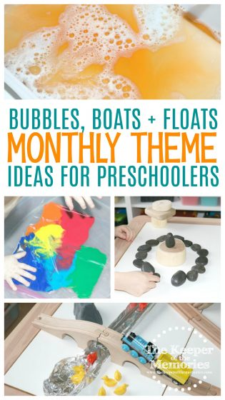 Water Preschool Monthly Theme Science & STEAM Activities
