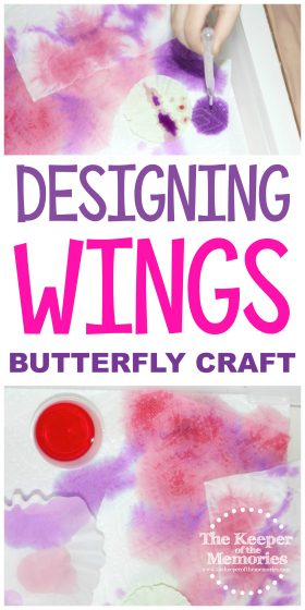 Designing Wings Butterfly Craft