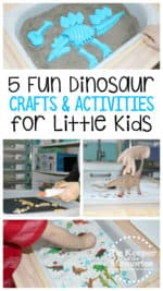 5+ Quick & Easy Dinosaur Preschool Monthly Theme STEAM Ideas