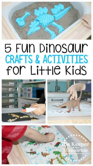 5 Fun Dinosaur Crafts & Activities for Little Kids