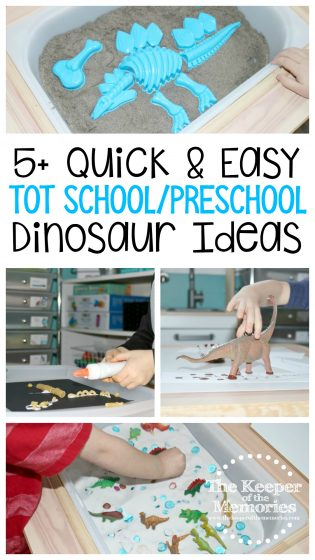 5 Quick & Easy Dinosaur Ideas