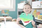A is for Alligator Zoo Craft