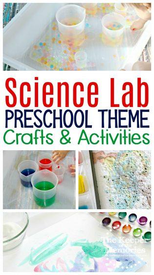 Science Lab Preschool Theme Crafts & Activities