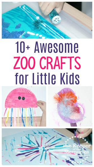 10+ Awesome Zoo Crafts for Little Kids