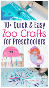 10+ Quick & Easy Zoo Craft Ideas for Toddlers & Preschoolers
