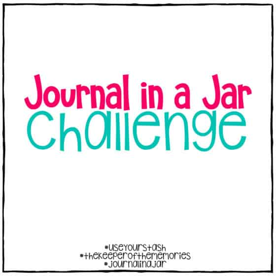 Journal in a Jar Challenge