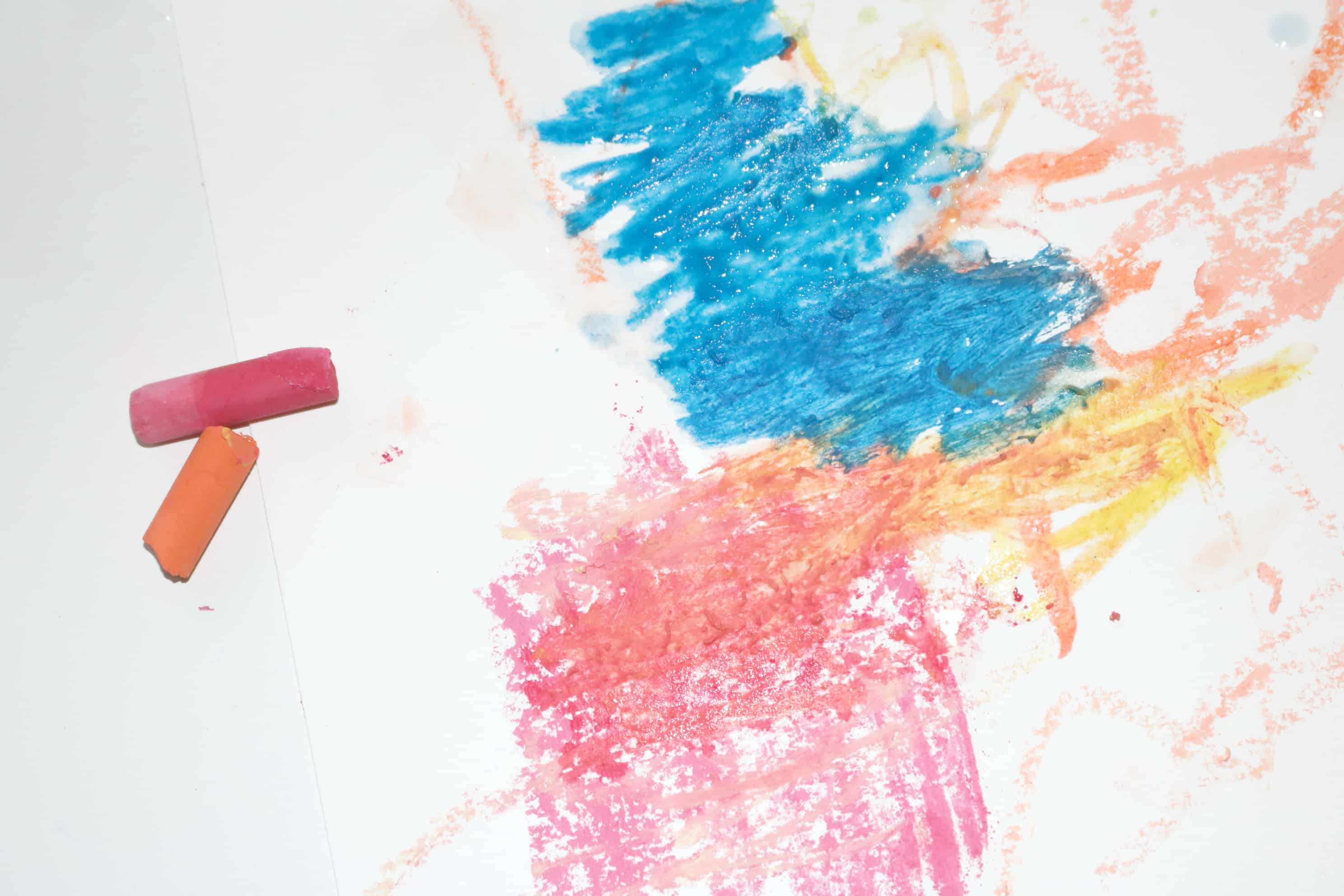 Artist Preschool Monthly Theme Chalk & Water Science & Nature STEAM Investigation Station
