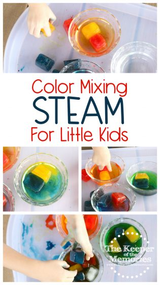 Color Mixing STEAM for Little Kids