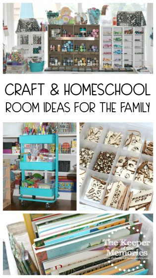 Craft & Homeschool Room Ideas for the Family