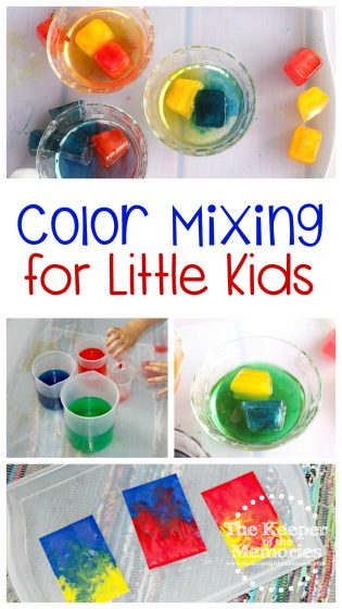 Color Mixing for Little Kids