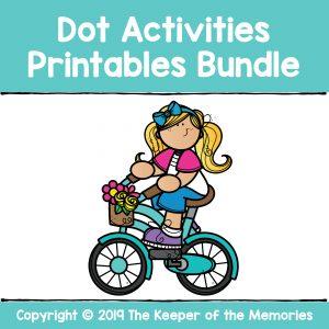 Kindergarten Worksheets Dot Activities
