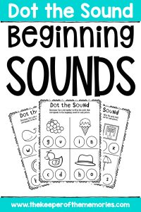 Beginning Sounds Worksheets for Preschoolers & Kindergartners