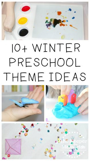 10+ Winter Preschool Themes