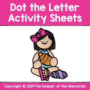 Dot the Letter Activity Sheets