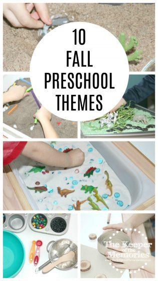 Fall Preschool Themes