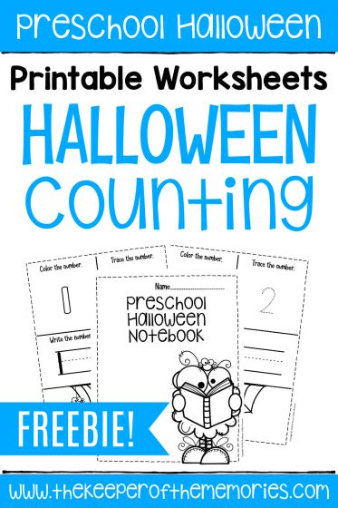 Free Halloween Counting Worksheets