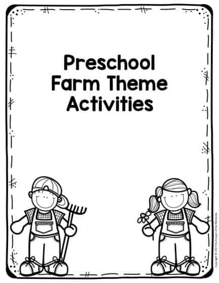 Free Printable Farm Preschool Worksheets