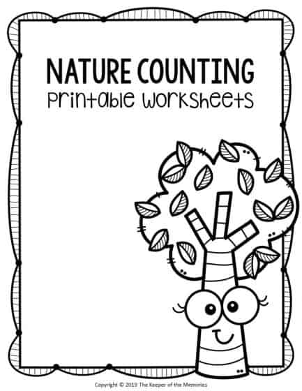 Free Printable Nature Kindergarten Worksheets