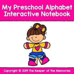 My Preschool Alphabet Interactive Notebook Alphabet Worksheets